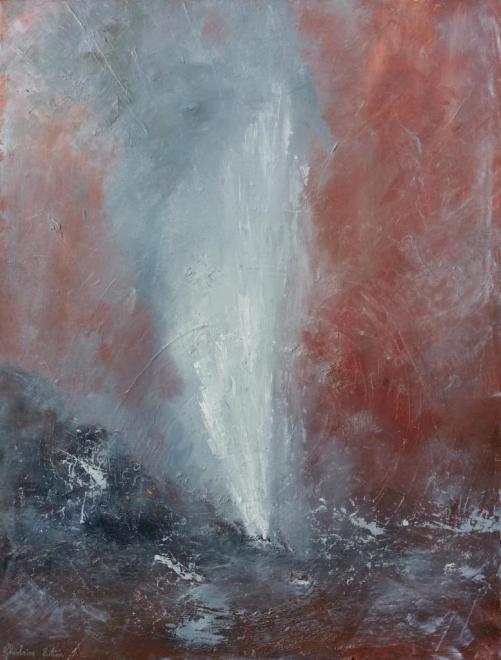 Yellowstone - huile 61x46 cm
