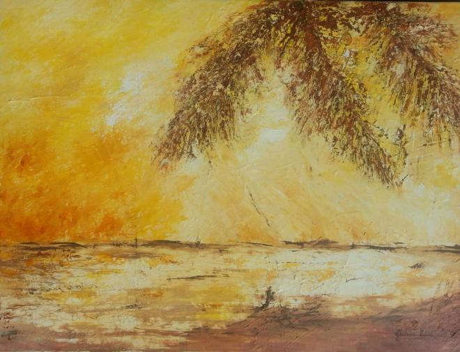 Madinina - huile 65x46 cm